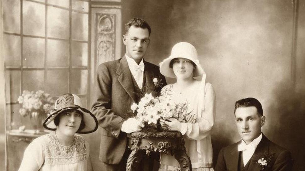 old fashionned wedding