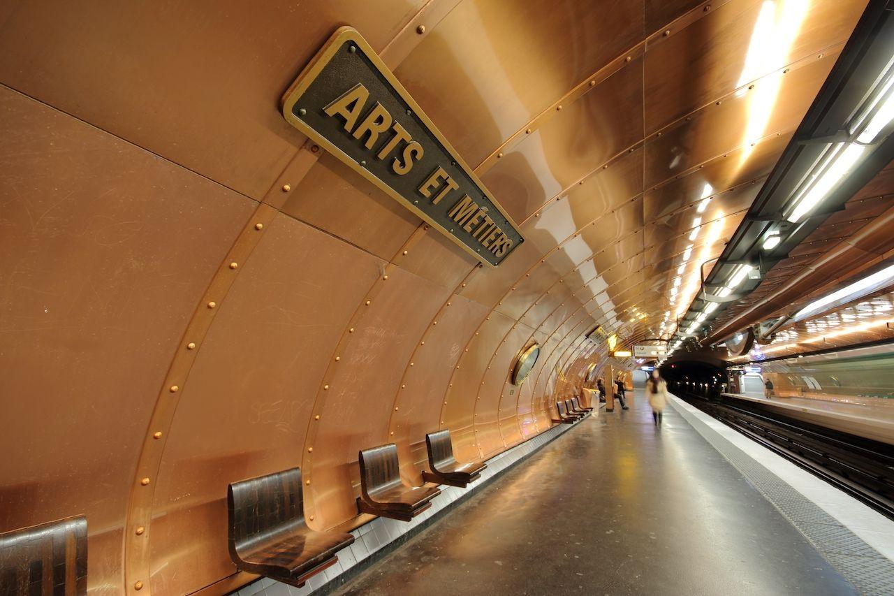 most beautiful metro stops paris