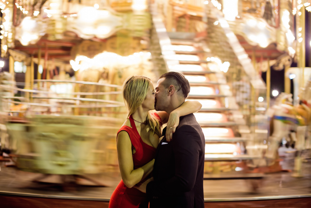 wedding proposal at trocadero