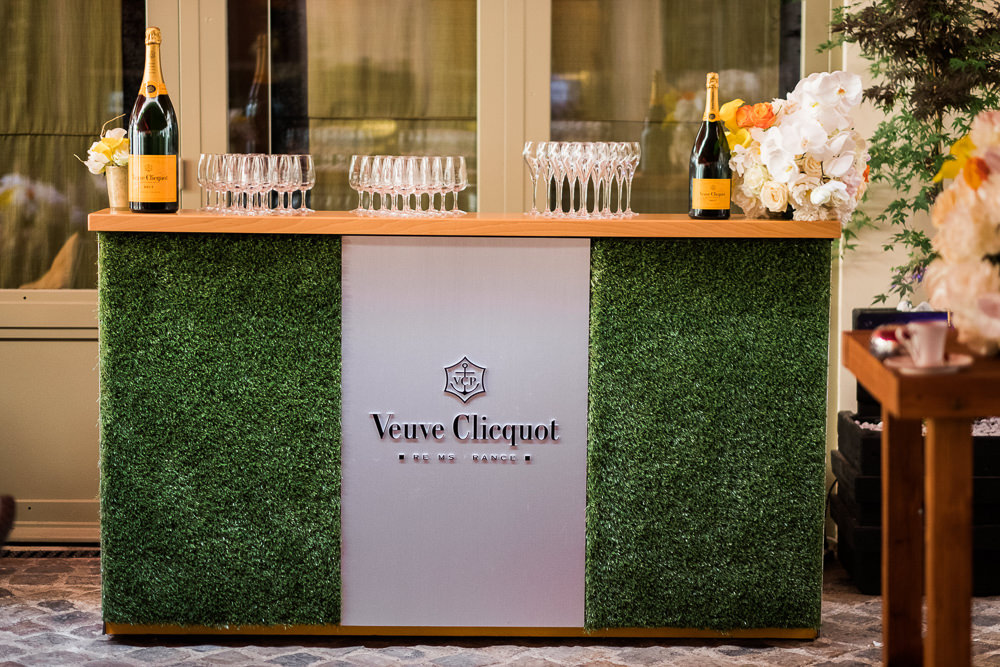 Champagne bar with Veuve Cliquot in Paris at Hotel Evreux