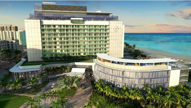 Wedding venue at the Edition hotel Miami