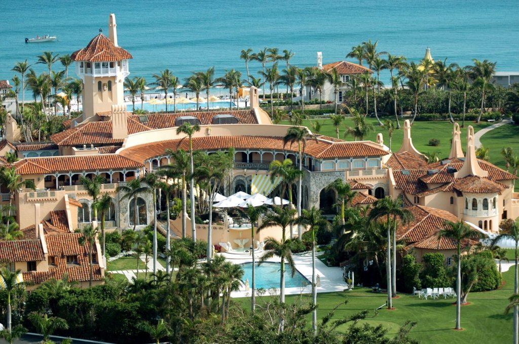 Mar o Lago resort in Palm Beach
