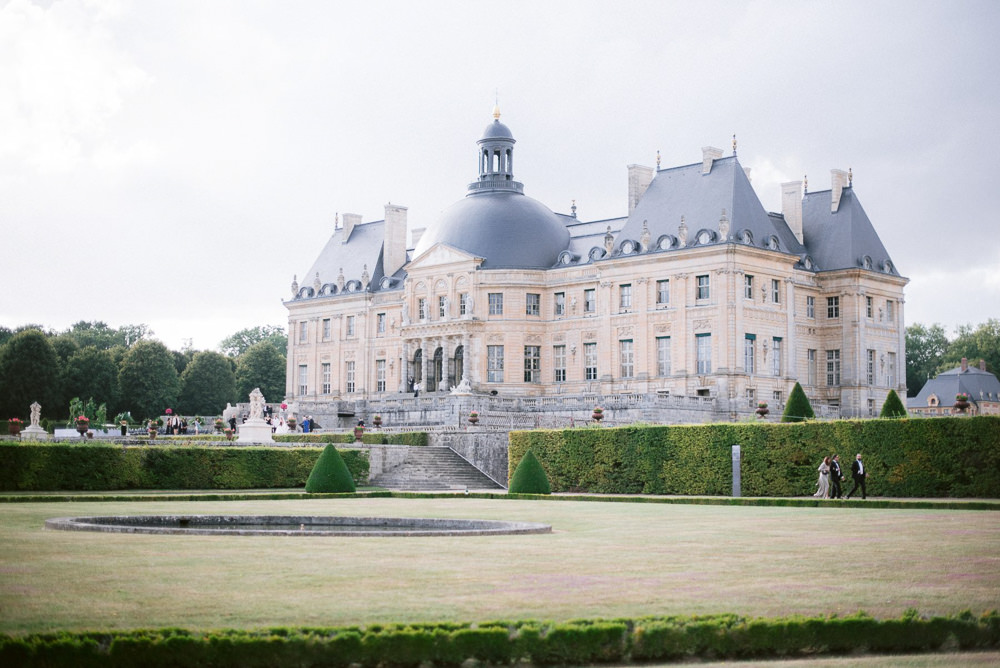 French wedding venues - Chateau Veux le Vicomte near Paris