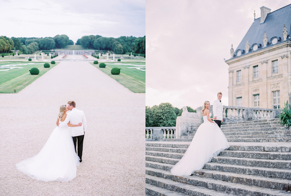 Luxury wedding in France - Chateau Vaux le Vicomte - Sumptuous Events