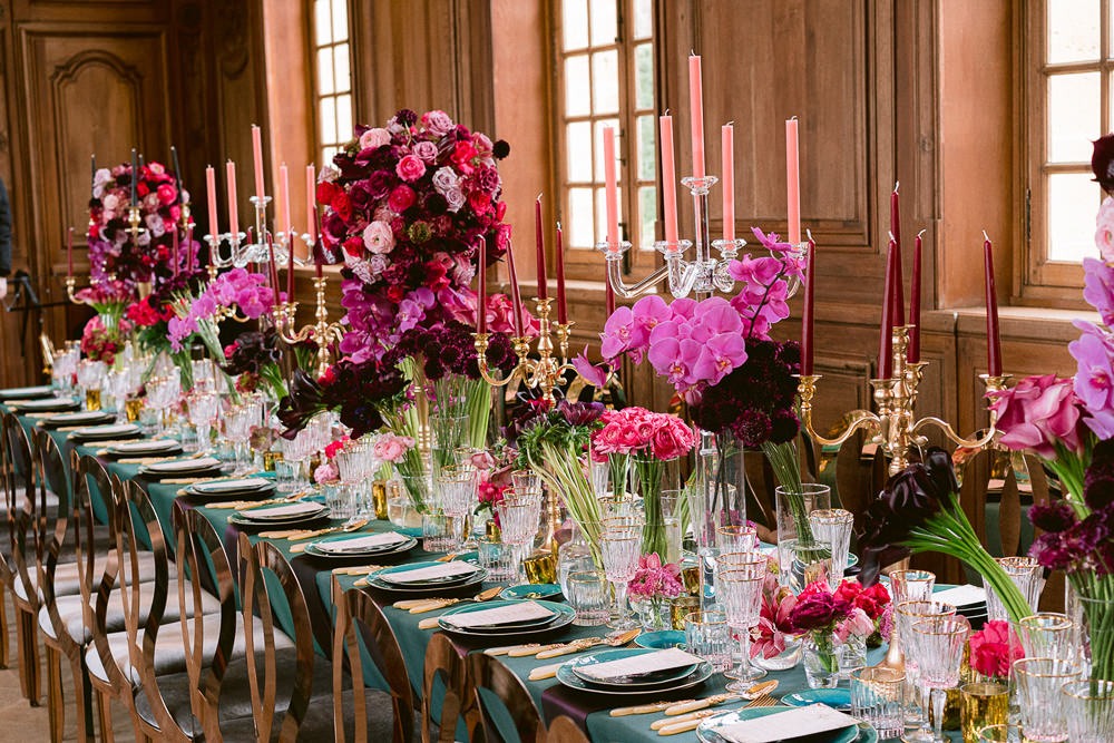 Floral design for a wedding in France