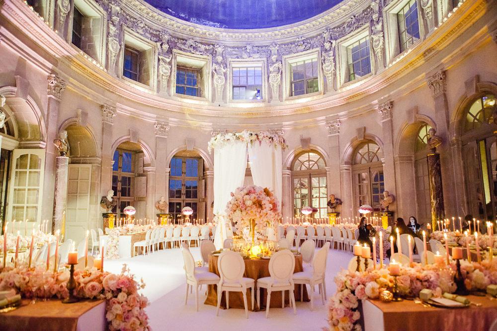 French wedding venues - Chateau Vaux le Vicomte