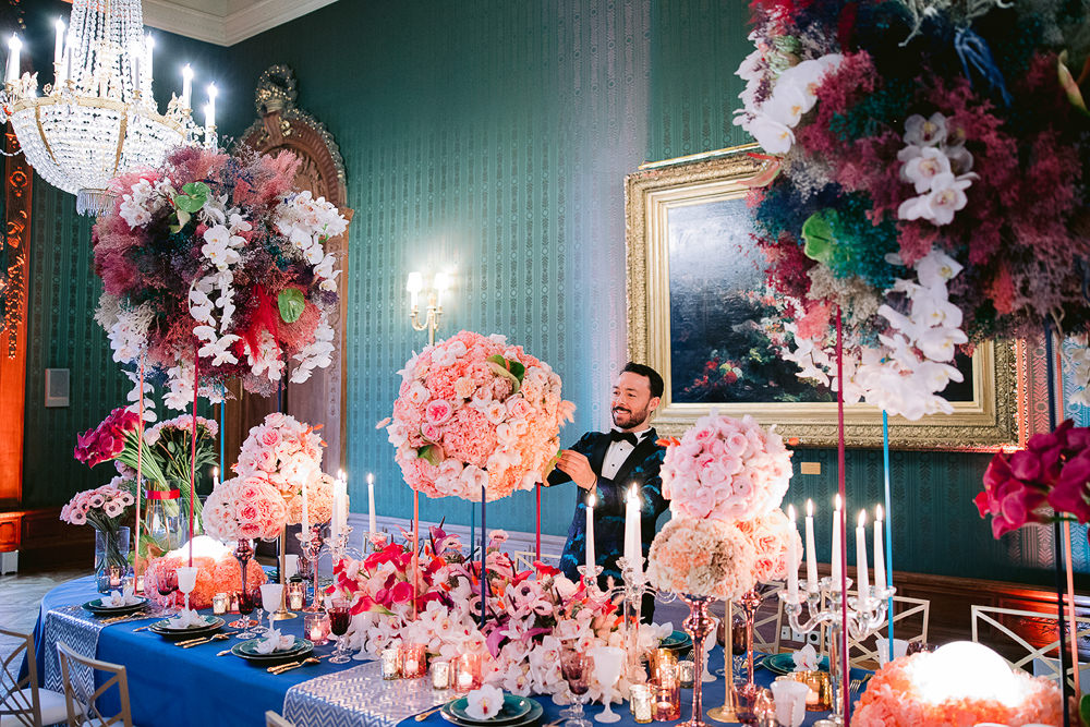 Jean-Charles Vaneck - Sumptuous Events - Extraordinary French wedding planner