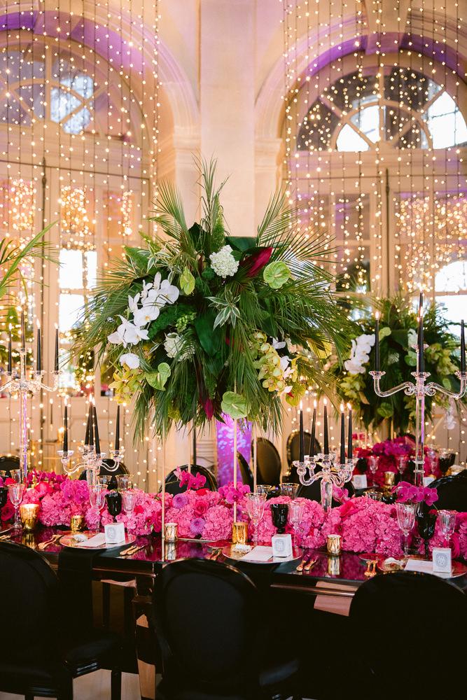 Luxury event vendors for Paris wedding