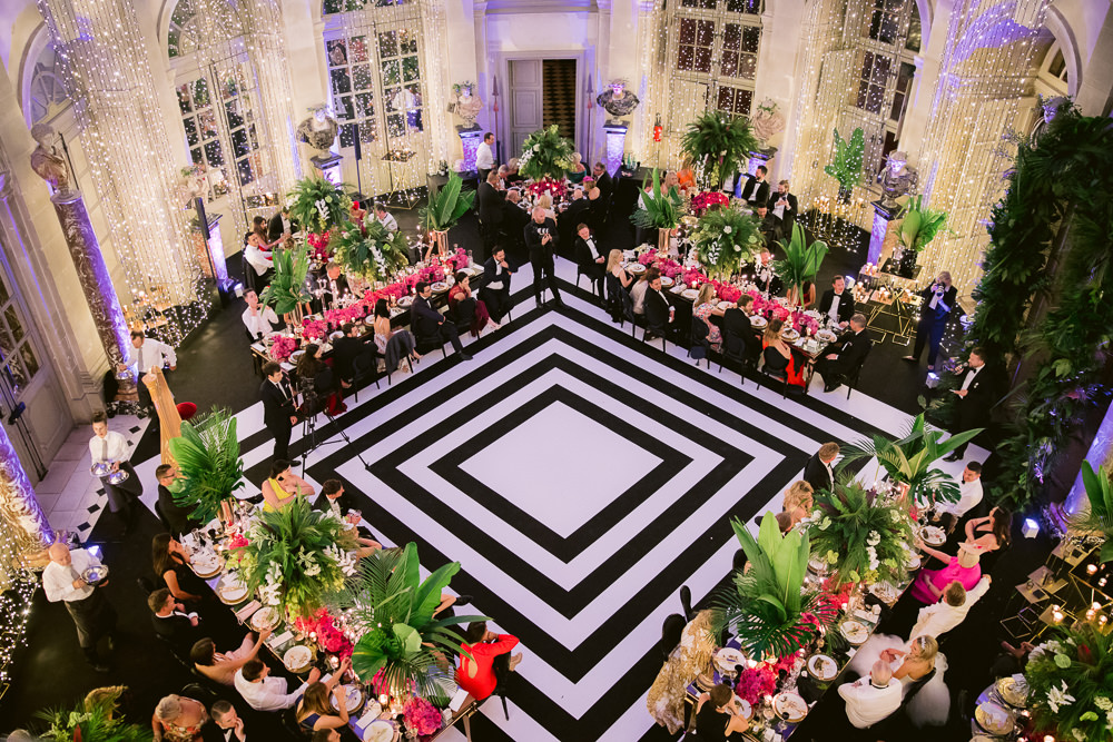 Wedding in France in a French Chateau near Paris